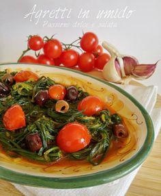 Cena digiribilissima e saporita...pronta in pochissimo tempo!  http://blog.giallozafferano.it/passioneperilcibo/agretti-in-umido/