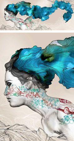 Gabriel Morenoes un ilustrador, grabador y pintor español con una técnica impresionante. En el 2007 fue nombrado por la revista londinenseComputers Artscomo uno de os 20 nuevos talentos de la il…