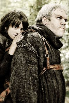Game of Thrones:  Bran Stark and Hodor