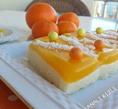 Portakal ve mandalin suyu peltesi ile harika sütlü tatlıdan yapabilirsiniz.