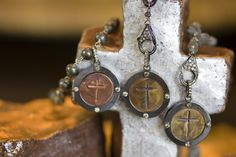 Love the crosses with diamonds! Love all Whitney's pieces!