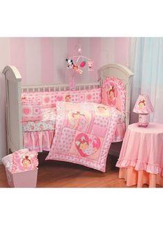 STRAWBERRY SHORTCAKE 8pc CRIB BEDDING SET Nursery Girls Dust Ruffle ETC | Crib.Net