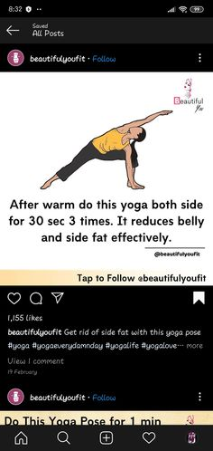 Gym Workout For Beginners, Gym Workout Tips, Yoga For Beginners, Workout Videos, At Home Workouts, At Home Workout Plan, Yoga Mantras, Yoga Facts, Lifehacks