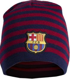 FC Barcelona muts Stoere en lekker warme muts met het logo van FC Barcelona. Kleur: rood/blauw - Muts barcelona rood/blauw senior