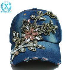 wholesale wholesale 2014 fall fashion Denim Baseball cap Sports Hat cap  canvas Snapback caps hat for e5b2db4c4c6a