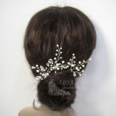 Bridal hair PIns Set Wedding Hair Accessories by alonajewelry, $58.00
