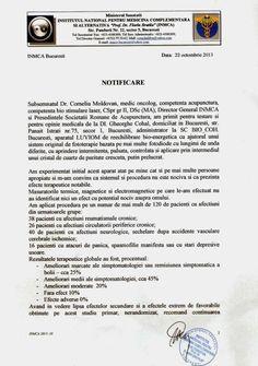 Notificare Institut 001