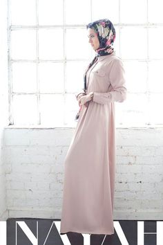 Love this Inayah jilbab but don't know if it will look as good on me as it does on the model :/