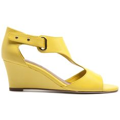 Unico by Top End #yellow Shoe Brands, Summer 2014, Night Out, Wedges, Yellow, Shoes, Fashion, Night Out Tops, La Mode