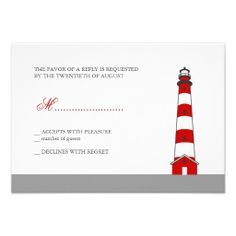 ==>>Big Save on          Lighthouse Wedding RSVP Card Custom Invitation           Lighthouse Wedding RSVP Card Custom Invitation today price drop and special promotion. Get The best buyReview          Lighthouse Wedding RSVP Card Custom Invitation today easy to Shops & Purchase Online - tra...Cleck Hot Deals >>> http://www.zazzle.com/lighthouse_wedding_rsvp_card_custom_invitation-161124967083014025?rf=238627982471231924&zbar=1&tc=terrest