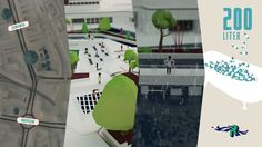 The city Rotterdam has asked Studio Analoog to make an animation of the Watersquare Benthemsquare in Rotterdam. This Animation shows the worlds first water square! This square can be used in multiple ways, besides collecting rainwater, it's possible to sport, skate and dance in one of the three basins. The animation shows why we need a watersquare, how it works and how it looks.  Enjoy watching the animation!