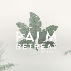 Mel Volkman St Augustine Graphic Design Web Design Palm Leaves Logo Tropical