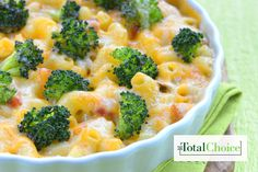 Total Choice Mac n' Cheese n' Veggies: Satisfy your craving for a hearty fix with this light and delicious alternative. Eat this recipe on the Total Choice 1200-calorie...