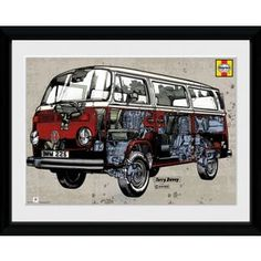 4ea9a614c8b Buy GB Eye Volkswagen Haynes Manual Framed Print at Argos.co.uk - Your  Online…