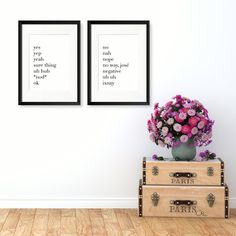 A one-stop shop for all unique, personalised prints, illustrations and handmade gifts for every occasion big or small Funny Inspirational Quotes, Text Color, Yes, Dark Side, Gallery Wall, How To Apply, Humor, Words, Frame