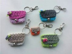 Crochet Wallet, Crochet Keychain, Crochet Bracelet, Crochet Purses, Crochet Gifts, Crochet Toys, Knit Crochet, Crochet Earrings, Love Crochet
