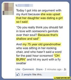 Gotta love grandmas: