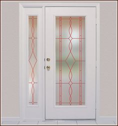 Allure Privacy in Ruby Lead Lines.  Also available in a See-Through version. $19.95-45.95
