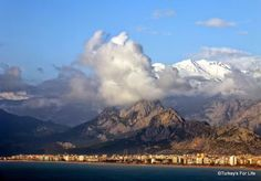View from Karaalioglu park, Antalya. #Antalya, #Konyaaltı, Turkey