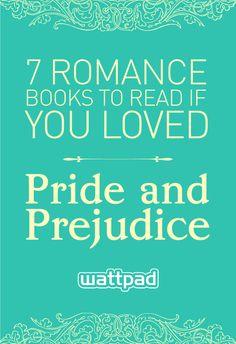 7 free romance books to read if you love Jane Austen or Pride and Prejudice. #wattpad