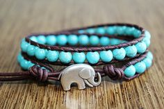 Super cute elephant bracelet :)