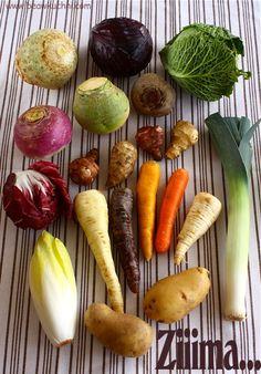 Warzywa sezonowe – zima | Bea w Kuchni