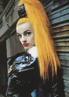 Nina Hagen a creative game changer in music and fashion helped pave the way for CLUB KIDS GOTH KIDS STYLE