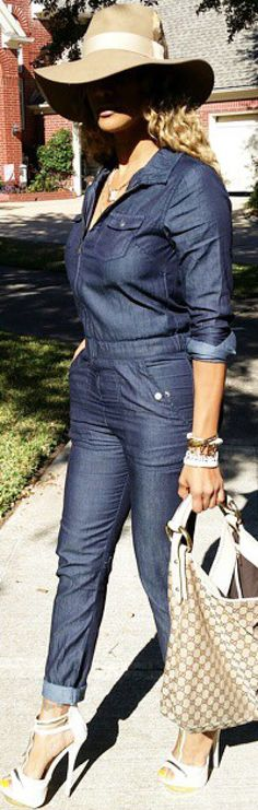 This Jean jumper is everything!