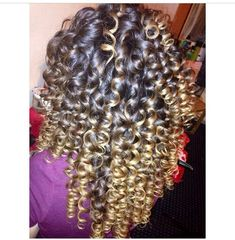 If only this is what having curly hair looked like. ;)