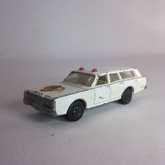 Matchbox White Mercury Police Station Wagon by Eagleseyefinds, $12.00