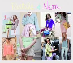 HOW TO WEAR- PASTELS+NEON
