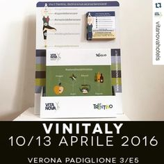 #Repost @vitanovahotels  Le #DeclinazioniDelBenessere a @vinitalytasting grazie a rete con @cantinaendrizzi e @muse_museum  #mele Melinda. Il #benessere del #Trentino a #vinitaly