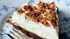 Danish Cake, Danish Dessert, Danish Food, Sweet Pie, Sweet Tarts, Baking Recipes, Cake Recipes, Dessert Recipes, Sweets Cake