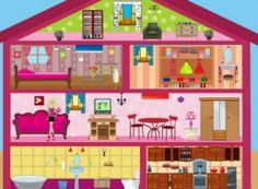 barbie games doll house decorating games - House Decorating Games