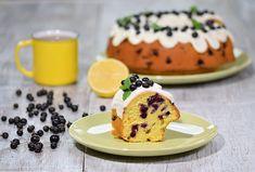 Bezlepkovou bábovku naplňte borůvkami.  #recept #babovka #peceni #boruvky #bezlepku #bake #recipe #cake #blueberry #glutenfree Pancakes, Gluten, Breakfast, Food, Morning Coffee, Essen, Pancake, Meals, Yemek
