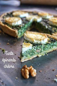 Avec cette tarte épinards chèvre, vous ferez, je pense, manger sans aucun soucis des épinards même aux réfractaires ;) On tente?