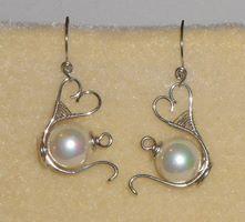 Tea pot earrings!