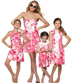 Matching outfits mother and daughters