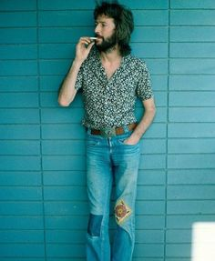 Eric Clapton takes a break circa 1970.