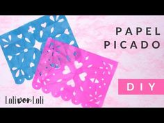En este vídeo-tutorial te enseñaremos a hacer papel picado fácil y rápido, visita nuestra pagina www.cielitolindostore.com