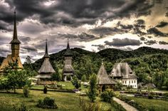Barsana Monastery, Maramures, Romania (by Sorin Markus) The Beautiful Country, Beautiful Images, Romanian People, Visit Romania, Come And See, Countries Of The World, World Heritage Sites, Places To Go, Europe