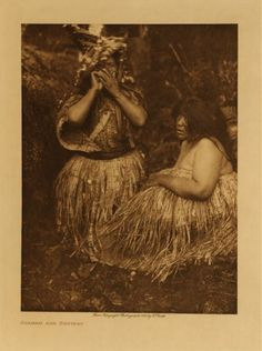 Clayoquot Shaman And Patient