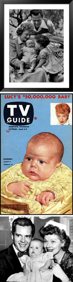 The first national issue of TV Guide was published on April 3, 1953. The cover featured a photograph of Lucille Ball & Desi Arnaz's son Desi Arnaz Jr., who had been born on January 19.