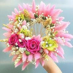 Букет Лагурус (зайцехвост) и неувядающие цветы !!!!🌺🌿🌾💐🎀 Floral Wreath, Wreaths, Home Decor, Floral Crown, Decoration Home, Door Wreaths, Room Decor, Deco Mesh Wreaths, Home Interior Design