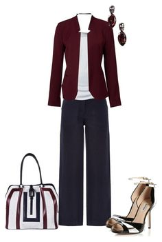 """""""Workin' It Out"""" by sweetnuff ❤ liked on Polyvore featuring Renaud Pellegrino, Forever New, Dune and NLY Accessories"""
