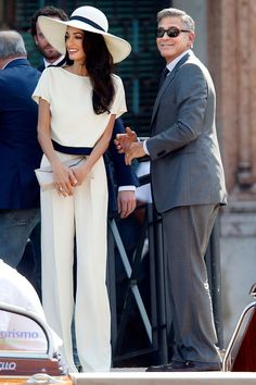 George Clooney and Amal Alamuddin (mariage civil le 29 septembre 2014)
