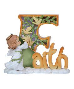 Look at this #zulilyfind! 'Faith' Angel LED Figurine by Precious Moments #zulilyfinds