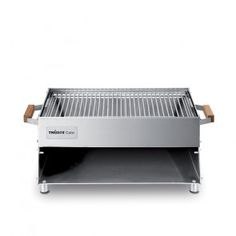 Stainless Steel Made in Germany Charcoal Fueled Oberhitze Grill, Barbecue Grill, Grilling, Barbecue Design, Grill Design, Bbq Stand, Metal Bending Tools, Portable Charcoal Grill, Stainless Steel Grill