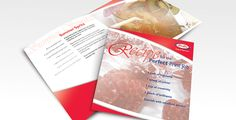 Promotional Handout. Recipe Cards