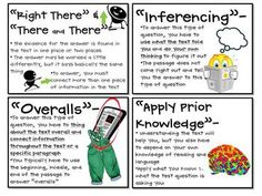"""Use this bulletin board set to review strategies for reading comprehension that you have taught students all year long. This board allows you to move from what students KNOW about reading in general to HOW that applies to reading for a reading test... """"test prep passages"""" as a reading genre that students develop an understanding of how the test/passages are designed. $4.00 tpt"""